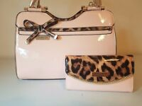 Womans Ted Baker Bag & Purse Set in Pink