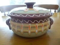 Handmade Moroccan Casserole Dish - Gorgeous!