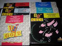 """Vinyl 12"""" singles - job lot of 91 discs"""