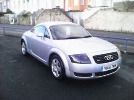 Audi tt 1.8t stunning original condition, weston mill car sales