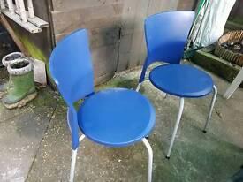 Kitchen chairs x2
