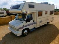 1993 euro mobile motor home in excellent condition