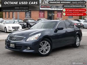2011 Infiniti G37x Luxury One Owner! Accident Free!