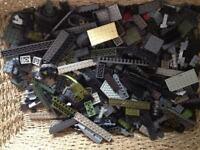 Large box 8.25 kg Megabloks mixed colours and figures Lego Compatible