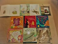 10 LARGE KIDS CHILDRENS PAPERBACK BOOKS,SINGING MERMAID,WINNIE,MOG,BLYTON,MOUSEHOLE CAT,BIG BLUE ETC