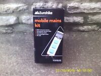 Camping Mains Electric Unit