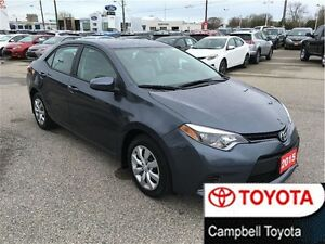 2015 Toyota Corolla LE VERY SHARP!  HEATED SEATS LOW KM'S