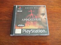 PLAYSTATION 1 APOCALYPSE EXCELLENT CONDITION
