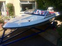 Fletcher Type 16 Speed Boat