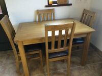 Table & 4chairs