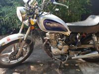 Lexmoto vixen 125cc spares or repairs
