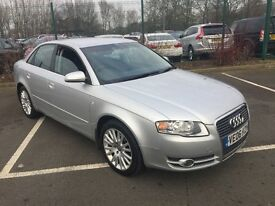 2006 06 AUDI A4 2.0 SE TDi 140 6-SPEED CRUISE CD PLAYER 1 FORMER KEEPER FSH VERY TIDY BEAUTYPX SWAPS