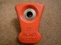 AL-KO ALKO SECURE LOCK INSERT 27 LOZENGE FITS BAILEY PEGASUS & ORION