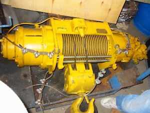 Winch  De pont roulant Pneumatic Hydraulique Explosion PROOF