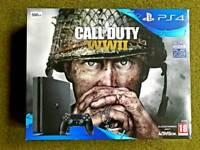 PS4 WWII BUNDLE 500GB