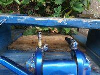 suzuki 4.5 hp 2 stroke outboard boat engine,