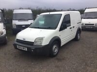 55 REG FORD TRANSIT CONNECT IN SUPERB CONDITION SIDE DOOR REAR BED BUILT IN DRIVES SPOT ON 1yrs mot