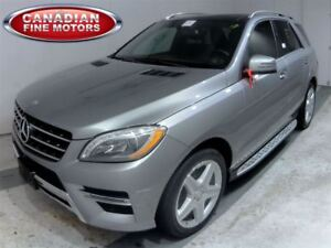 2014 Mercedes-Benz M-Class ML350 AMG-DIESEL-CLEAN CARPROOF-PANO