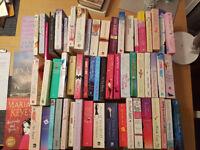 60 popular fiction books, excellent condition