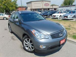 2013 Infiniti EX37 AWD JOURNY PKG CAMERA DUAL DVD