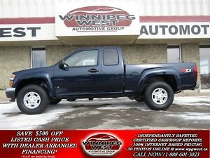 2008 Chevrolet Colorado RARE LT Z71 4X4 OFF ROAD PACKAGE, 3.7L E