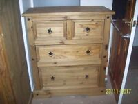 Chest Of Drawers ( Solid Wood )