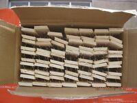 Full box of 500' feet brand new carpet gripper gripperrods Also Underlay Door Bars etc