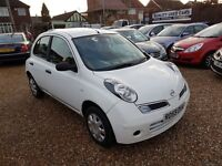 Nissan Micra 1.2 16v Visia 5dr, GENUINE LOW MILEAGE, FSH, 2 KEYS, HPI CLEAR,LONG MOT, P/X WELCOME