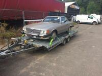 Classic car transporter , recovery