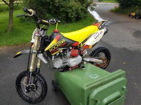 Demon/stomp 160cc pitbike