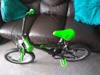 **Excellent condition 16 in child's bike**