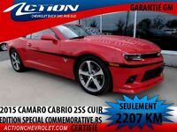 2015 CHEVROLET CAMARO CONVERTIBLE SS 2SS,RS,EDITION COMMEMORATIV