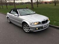 2002/52 REG BMW 318CI CONVERTIBLE ** 1 F OWNER ** £2250