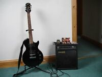 Epiphone Special II plus Fat Rat FR30 amp plus extra bits and bobs