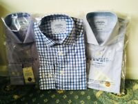 Brand new Charles Tyrwhitt long sleeve shirts - size 38/84cm