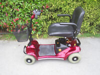 Sterling Pearl mobility scooter, 21 stone user weight, easily disassembles, good condition.