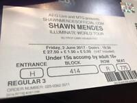 Shawn Mendez World Illuminate Concert at O2 arena