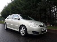 2006 TOYOTA COROLLA COLOUR COLLECTION 1.6 VVTI PETROL LOVELY LOW MILEAGE EXAMPLE MOT FEBRUARY 2018 !