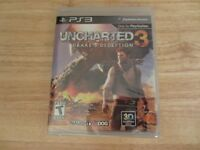 UNCHARTED 3: DRAKES DECEPTION FOR PS3 BRAND NEW SEALED.