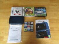 New nintendo 3ds xl with 12 games