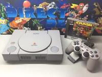 Sony PlayStation 1 Ps1 all leads and controller