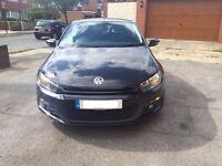 Volkswagen Sirocco 2.0L TDI GT blue motion clean car £6595! £30 year road tax!!