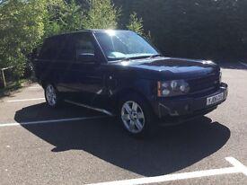2006 Range Rover vouge td6 auto