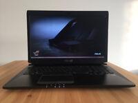 Laptop ASUS G750JS, i7, 32GB RAM, 128GB SSD + 1000GB, Dedicated GTX 870M 6GB, Windows 10