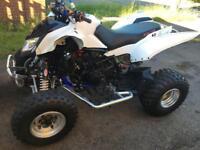 Apache rlx450 quad bike road legal cbr600 engined modified raptor custom 450 quadbike