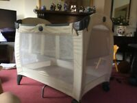 Graco travel cot suit 3 months- 3 years old £25 can deliver if local