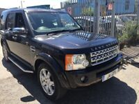 LAND ROVER DISCOVERY3 2009 AUTOMATIC DIESEL 2.7 SATNAV LEATHER SUNROOF PRIVATE PLATE TDV6 HSE