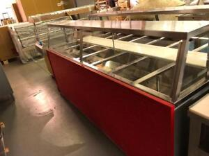 USED HOT STEAM TABLE