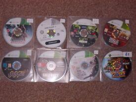 PS3 XBOX 360 BLU-RAYS DISCS ONLY