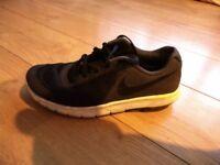 Nike black trainers, size 4